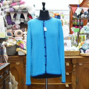 King Cole Bamboo 4 ply knitted cardigan