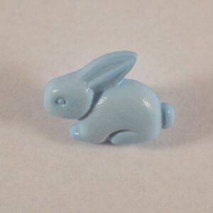 Button Rabbit Baby Blue