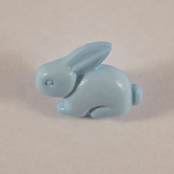 Button Rabbit Baby Blue