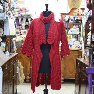Alpaca Chunky knitted cardigan