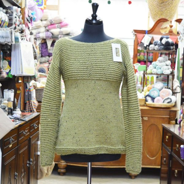 Alpaca Tweed Chunky knitted jumper