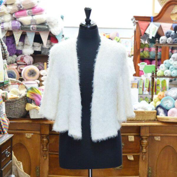 Stylecraft Eskimo Kisses DK knitted bolero