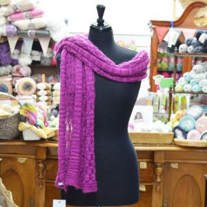 Stylecraft Senses 4 ply knitted scarf / wrap