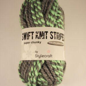 Stylecraft Swift Knit Stripes discontinued super chunky yarn