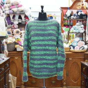 Stylecraft Swiftknit Stripes super chunky jumper