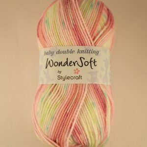 Stylecraft Wondersoft Prints Baby DK Yarn