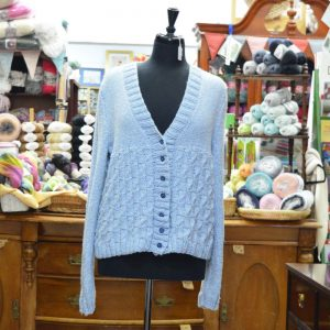 King Cole Authentic Chunky Cotton Knitted Cardigan