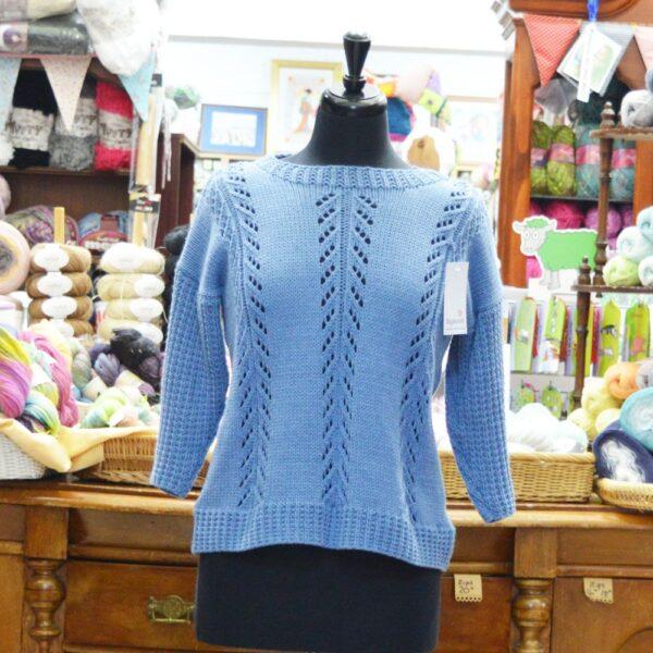 Stylecraft Jeanie Aran ladies knitted jumper