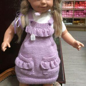 Stylecraft Bambino DK yarn, garment photo, child's dress