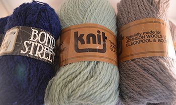Dad's Branded Wool Uknit