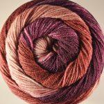 Batik Swirl Foxglove