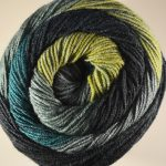 Batik Swirl Blue Ocean