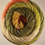 Batik Swirl Poppy Field