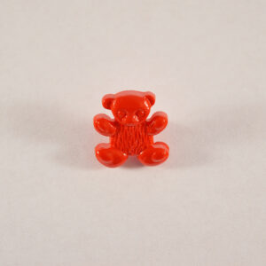 Teddy Button Red