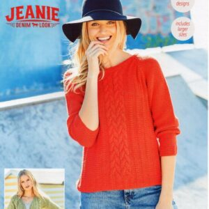Stylecraft Monet 9619 knitting pattern for jumper and cardigan