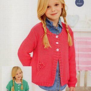Stylecraft Classique Cotton DK pattern 9258