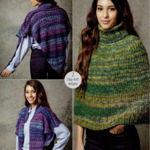 Stylecraft Carnival chunky yarn knitting pattern 9304