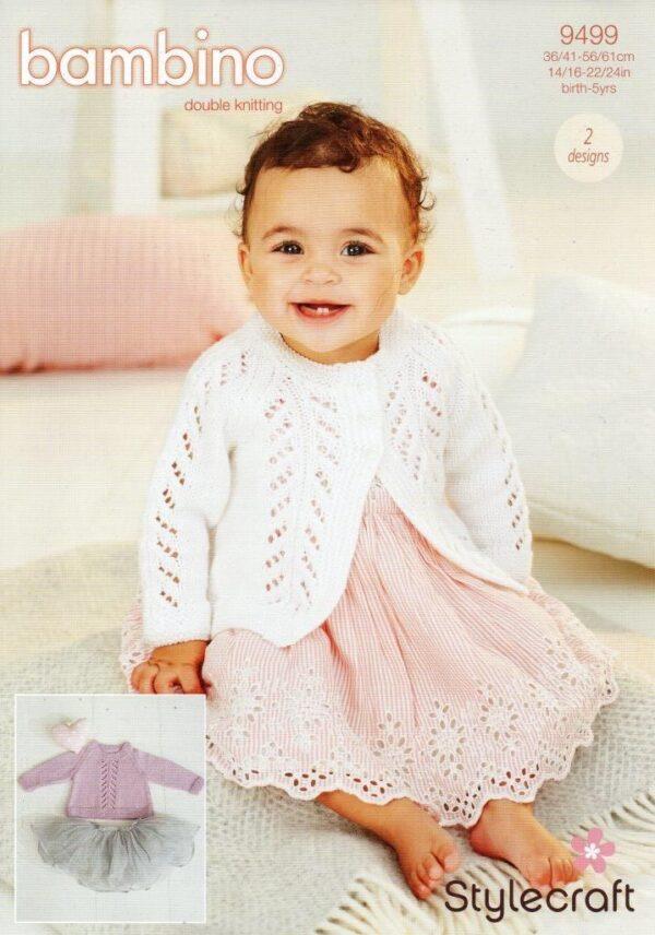 Stylecraft Bambino DK pattern 9499