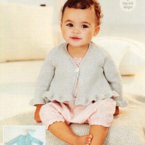 Stylecraft Bambino DK pattern 9501