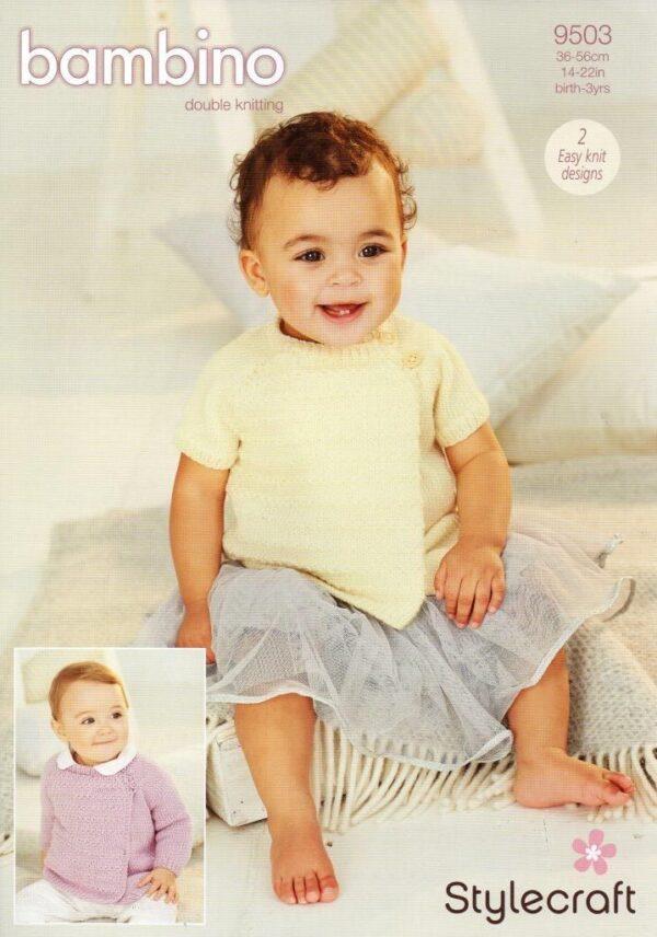 Stylecraft Bambino DK pattern 9503