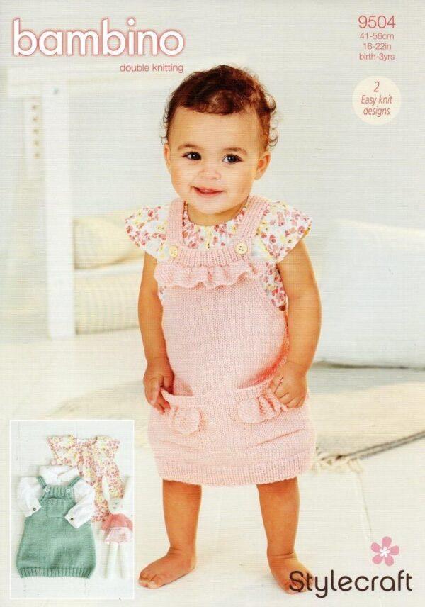 Stylecraft Bambino DK pattern 9504
