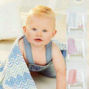 Stylecraft Bambino DK pattern 9506
