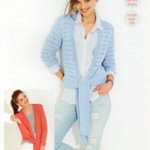 Stylecraft Classique Cotton DK pattern 9519