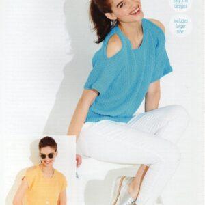 Stylecraft Classique Cotton DK pattern 9520