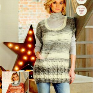 Stylecraft Life Changes DK knitting pattern 9542
