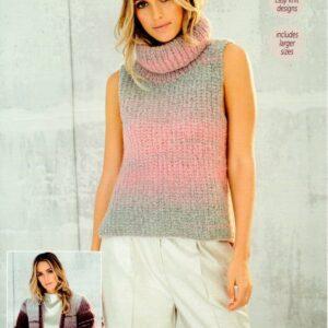 Stylecraft Cosy chunky knitting pattern 9564
