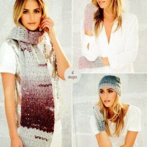 Stylecraft Cosy chunky knitting pattern 9566