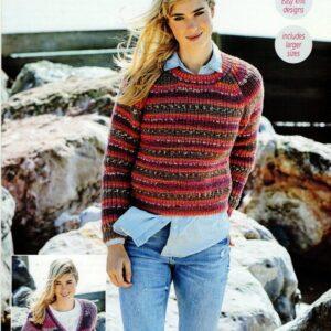 Stylecraft Life Heritage Aran knitting pattern 9569