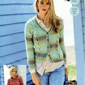 Stylecraft Life Heritage Aran knitting pattern 9570