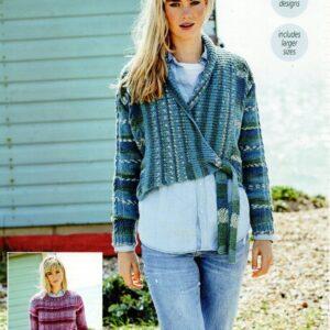 Stylecraft Life Heritage Aran knitting pattern 9571