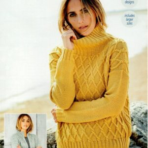 Stylecraft Bellissima DK yarn knitting pattern 9582