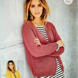 Stylecraft Bellissima DK yarn knitting pattern 9586