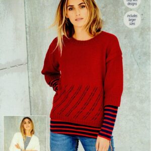 Stylecraft Bellissima DK yarn knitting pattern 9587