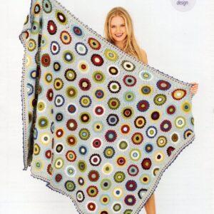 Stylecraft Bellissima DK yarn crochet pattern 9613
