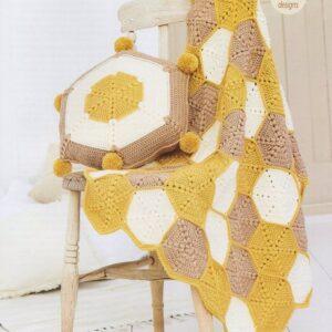 Stylecraft Bellissima DK yarn crochet pattern 9614