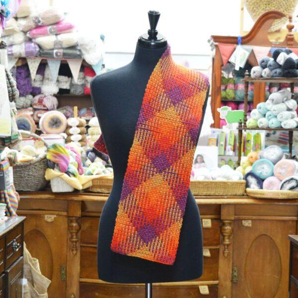 Stylecraft Colour Pool chunky crochet scarf