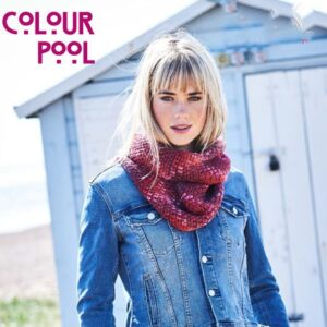 Stylecraft Colour Pool Aran Yarn free pattern scarf