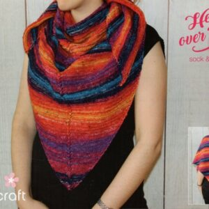 Free Stylecraft Head over Heels 4 ply shawl pattern