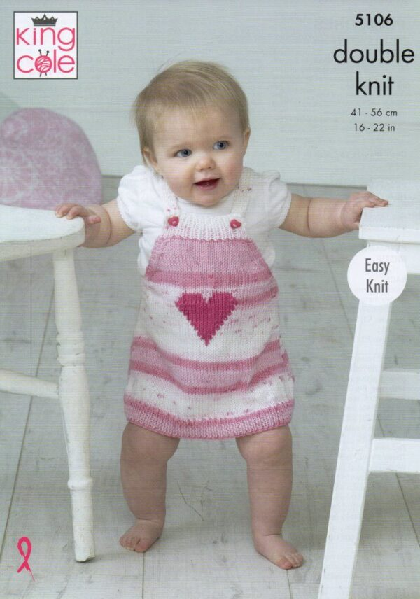 King Cole Cottonsoft pattern 5106