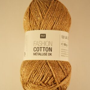 Rico Cotton Fashion Metallise DK