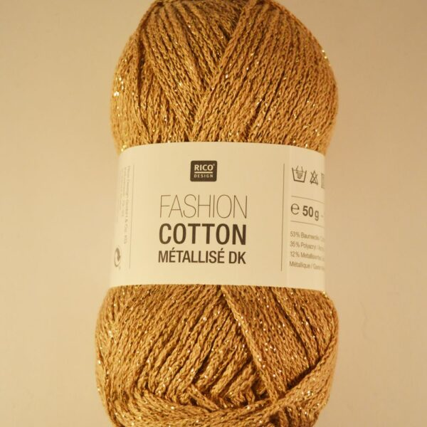 Rico Cotton Fashion Metallise DK