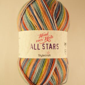 Stylecraft Head over Heels All Stars yarn