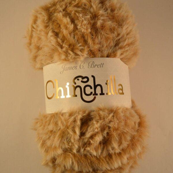 James C Brett Chinchilla faux fur super chunky yarn