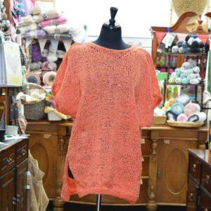 Stylecraft Mystique ladies knitted beach cover up