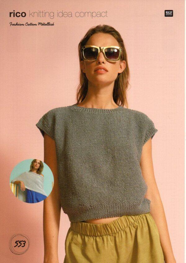 Rico Fashion Cotton Metallise pattern 553