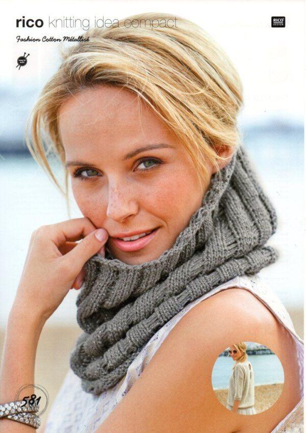 Rico Fashion Cotton Metallise pattern 581
